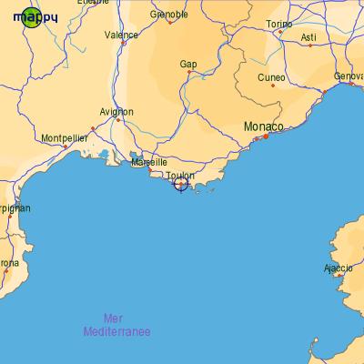Mic003 - Ville bord de mer mediterranee ...
